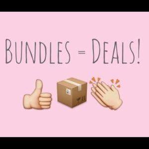 More items? More Savings!! Bundles = Great Deals!!